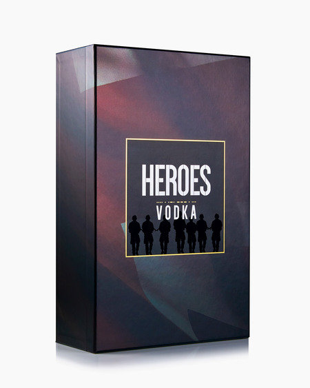 Heroes Vodka Black